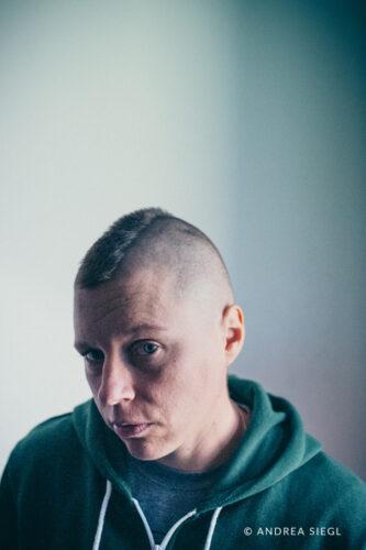Brigitte Stocker, Portrait, Foto: Andrea Siegl