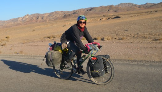 Fahrrad Weltreise im DIY-Stil