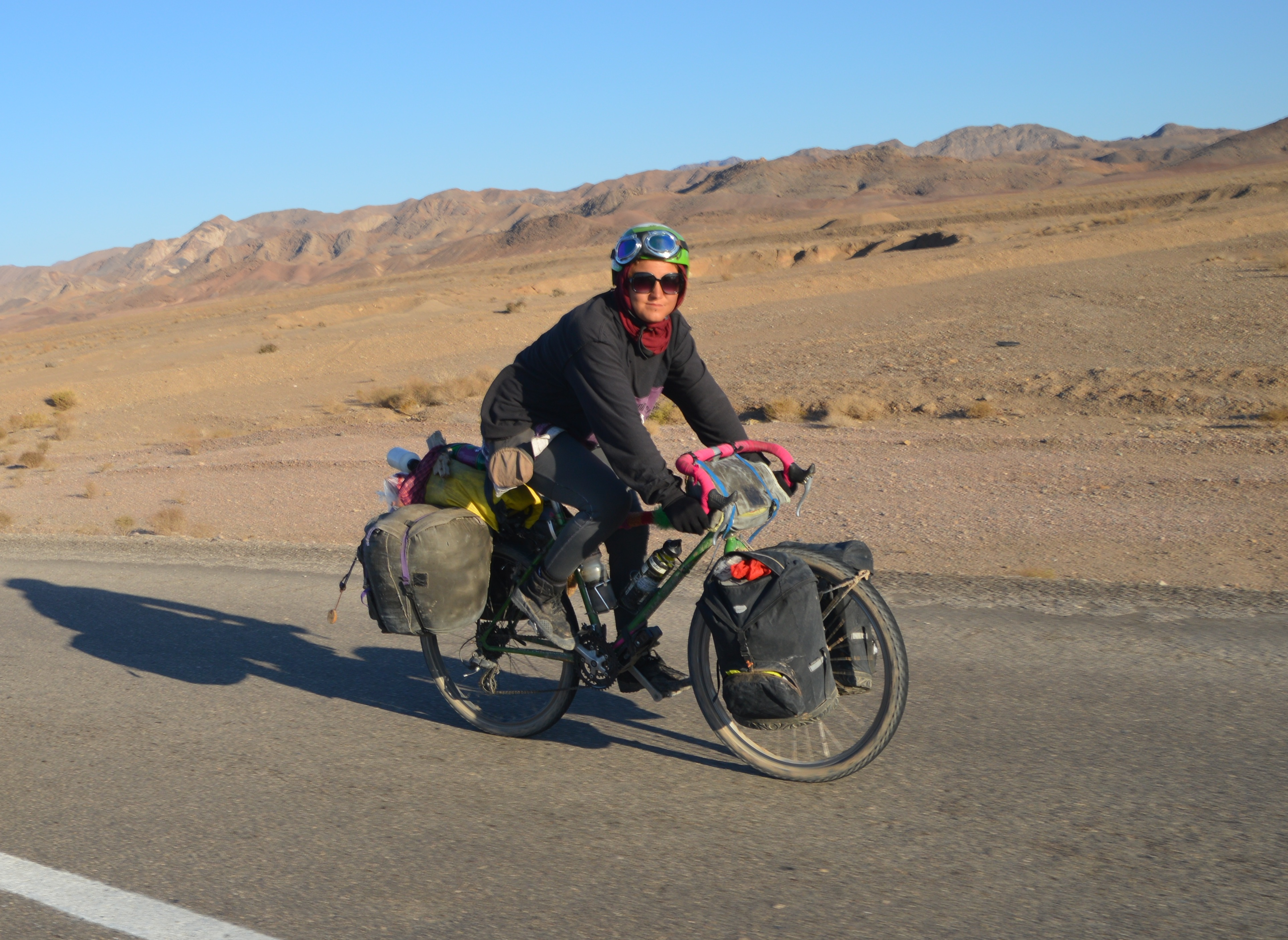 fahrrad weltreise im diy stil