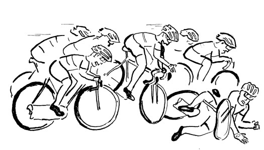 Wer bei Radtouren haftet