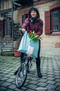 So schön: Daniela Schulhofer hat Tulpen geladen