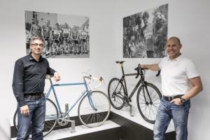 Simplon-Geschäftsführer Christian Hämmerle und Stefan Vollbach. Foto: Erwin Haiden
