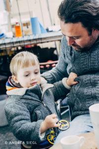 VELLO, Vater und Sohn, Foto: Andrea Siegl