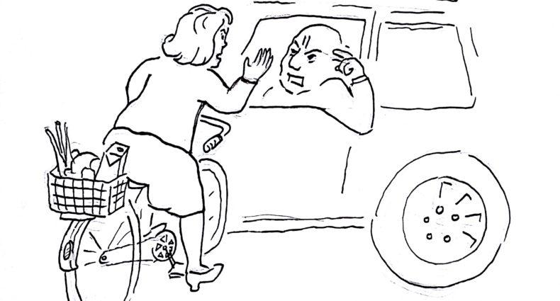 Cartoon: Fugart für Drahtesel – das österreichische Fahrradmagazin
