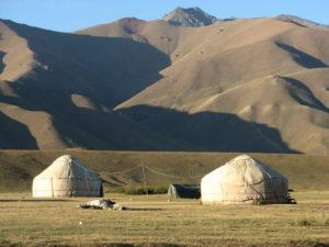 Kirgistan, die Jurten der Nomaden