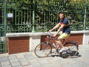 DRAHTESEL-Autor Jan Killian testete die E-Bike-Umbau-Kits an seinem 40 Jahre alten Puch