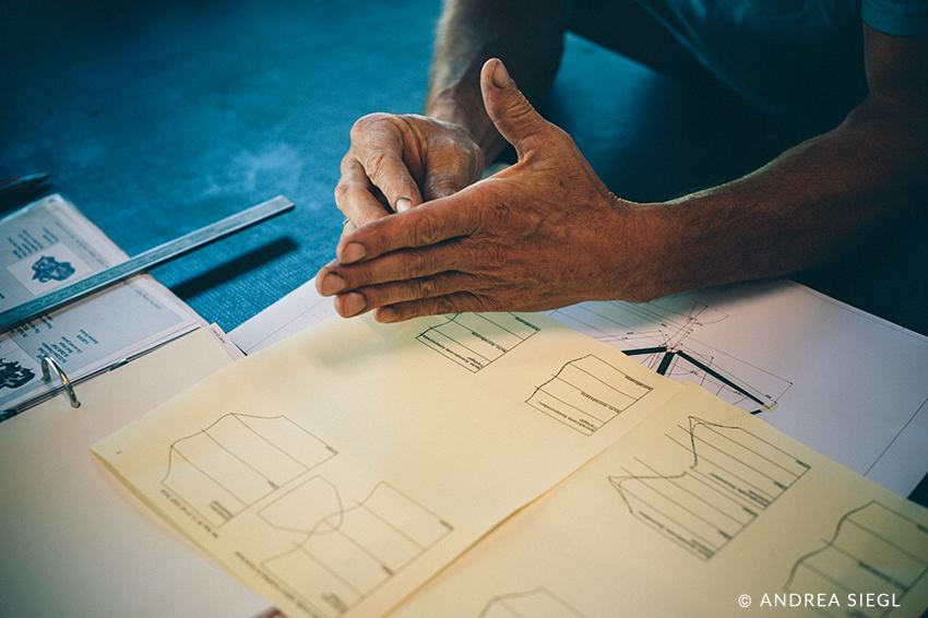 MoosBike, Rahmenbau Maßrahmen, Planung, Foto: Andrea Siegl