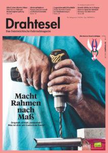 Drahtesel Cover, Art Direction: Anna Hazod, Chefredakteur: Matthias Bernold, Foto: Andrea Siegl