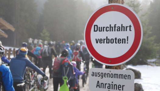 Kommentar: Mountainbiker vs. Geist der Monarchie