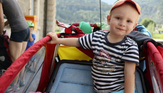 Rechtsfragen: Kleinkind am Fahrrad