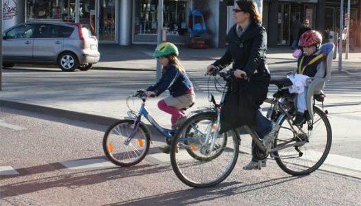 Leitartikel: Das Fahrrad als Familienverkehrsmittel
