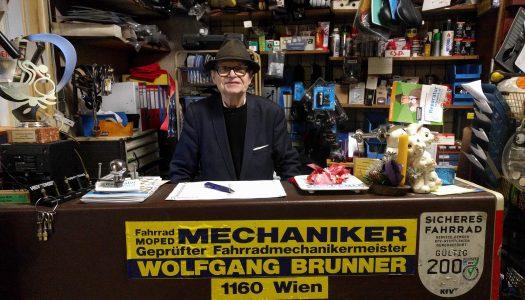RdR: Wolfgang Brunner –Wiens letzter Radmechaniker-Meister