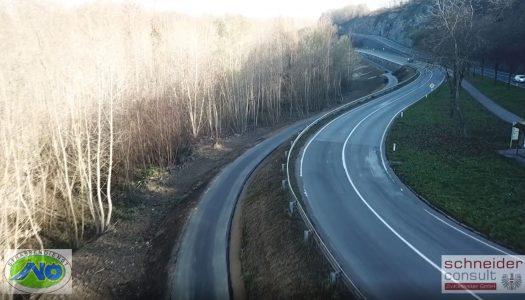 Donauradweg östlich von Melk jetzt sicherer und komfortabler
