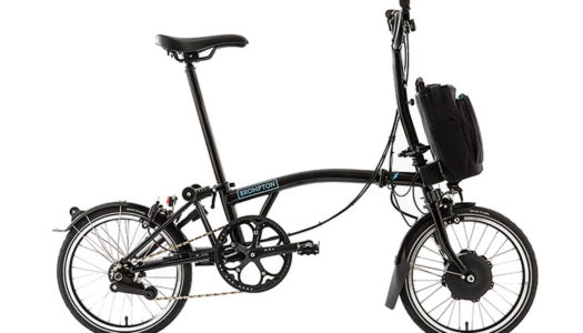 E-Faltrad im Test: Brompton Electric H6L