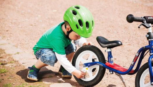 Kinderrad wählen: Darauf sollten Eltern achten