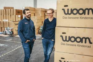 Woom Gründer Christian Bezdeka und Marcus Ihlenfeld