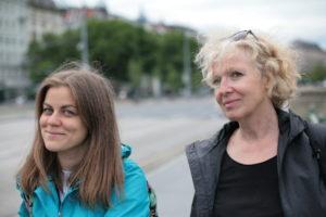 Platz für Wien: Barbara Laa, Veronika Wirth.