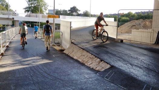 In Linz: Miserable Verkehrsplanung