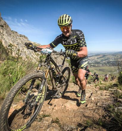 "Leo Hillinger beim Etappenrennen ""Wines2Whales"" in Südafrika. Foto: Sportfotograf GmbH."