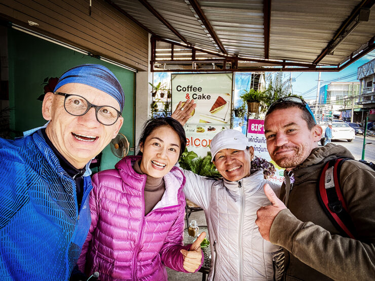 Oliver Baier in Thailand, Winter 2019/20.